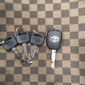 トヨタ スペアキー   合鍵・ハンコ・靴修理はみらい工房