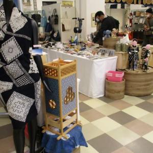 道の駅津軽白神の『こぎんのいま展』を見学!こぎん糸と目屋豆腐を買いました