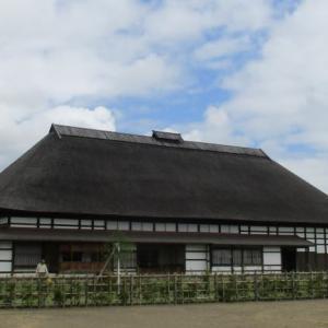 弘前の堀越城跡はガイダンス施設・石戸谷家の内部も無料で見学できます