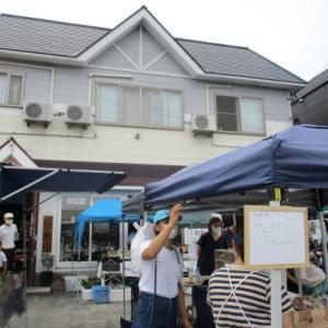 油屋福六のふくろく朝市♪こぎんショップや地元の野菜、北海道のミニ物産も