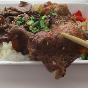 牛タン牛バラ焼き肉丼♫ぴょん吉にく仙人のティクアウト