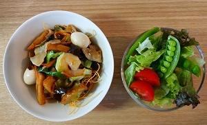 袋麺第7位の皿うどんと今週のお昼ごはん