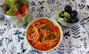 うちのスパゲッティ事情と今週のお昼ごはん