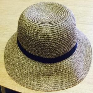 無印良品 麦わら帽子を買いました
