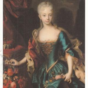 2009年『THEハプスブルク』より-《11歳の女帝マリア・テレジア》