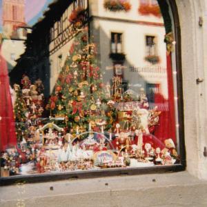旅の思い出写真_ロマンティック街道_ローテンブルクのクリスマスマーケット