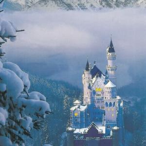 旅の思い出写真_ノイシュバンシュタイン城で購入した絵葉書
