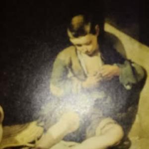 2015年『ルーヴル美術館展』_「物乞いの少年(蚤をとる少年)」