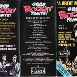 イギリスへの旅の思い出-ロンドンで『GOOD ROCKIN TONITE』観劇
