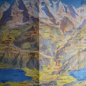 旅の思い出写真-アルプス登山電車