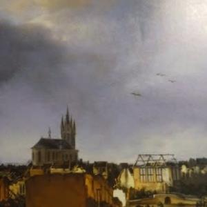 2008年『フェルメール展』より-「デルフトの爆発」