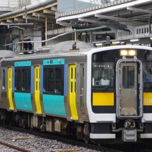 7/9 1d1Tのキハ 常磐線→磐越東線→水郡北線 迂回回送