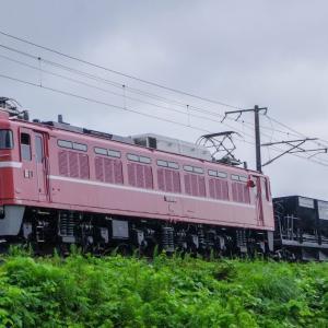 7/26 EF81 81 によるホキ配給 水戸→郡山