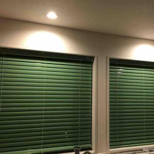 キッチン窓ブラインド変更