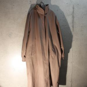 2019/10/19 Poly Stand Collar Coat