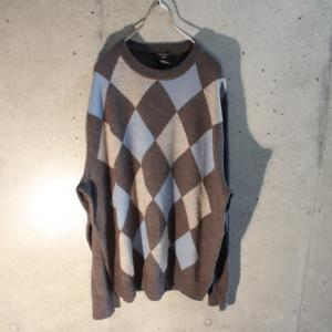 2019/11/9 Argyle knit