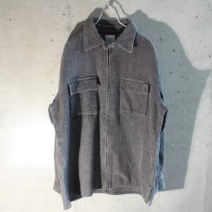 2019/11/9 Cotton Zip Up Shirt Jacket