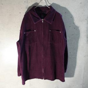 2019/11/9 Corduroy Zip Up Shirt Jkt