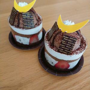 結婚記念日と子どもの日のケーキ☆