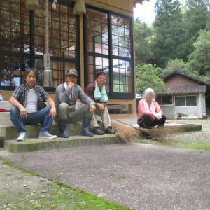 船岡神社清掃作業