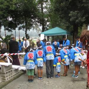 船岡神社 落成式
