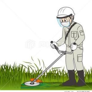草刈り作業のボランティア活動!