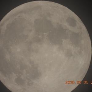 20200606-1  :  ゆうべのお月さん まんまる15夜さん