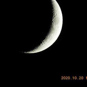 20201020-5  :  今夜のお月さま・実写 (nikon coolpix p1000)
