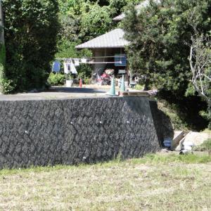 別荘の擁壁工事
