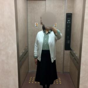 1195日目〜80.3kg  買ってよかった790円のスカート