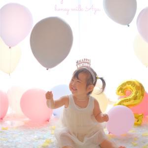 我が子の誕生日に撮影してもらえますか?