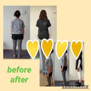 しっかりとアフターフォロー 日吉 綱島 日吉本町 女性のためのサロンYuan 骨盤調整 姿勢改善