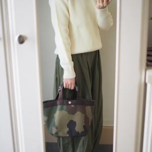 先日の通院ファッション。定番のニットはやっぱりいい!それと、昨年もすぐに売り切れたワンピース、予約開始!