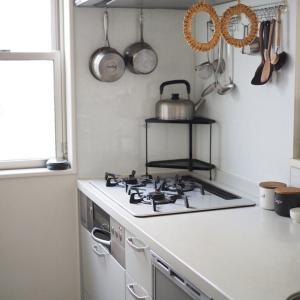 今日の集中お掃除は、お気に入りのコンロのお手入れ。