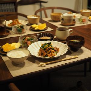 食事制限解除後、大好物の発酵食品だらけの晩ごはん。