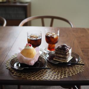最近の体調と季節のケーキ。