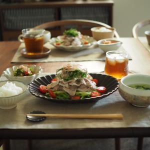 野菜モリモリ豚しゃぶサラダ。気になる歯痛、その後。