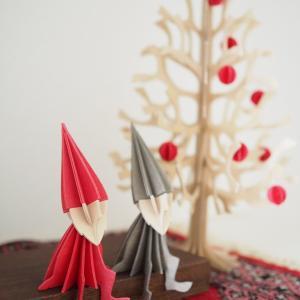 クリスマスインテリア、始めました!