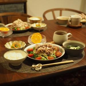 食欲が落ちる季節。お野菜もお肉もさっぱりたっぷり食べたい日の晩ごはん。楽天お買い物マラソンお得情報!