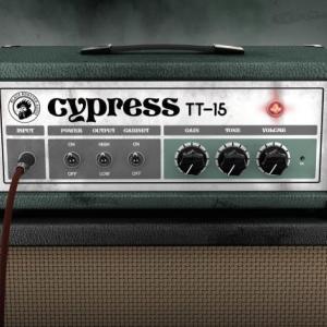 フリーのアンプシミュレーター Cypress TT-15(ベースにも使えます)
