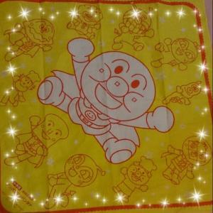 めばえ夏の愛読者キャンペーン☆アンパンマンBIGバンダナが届きました