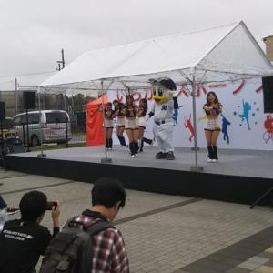 台風と、江戸川と、スポーツフェスタ