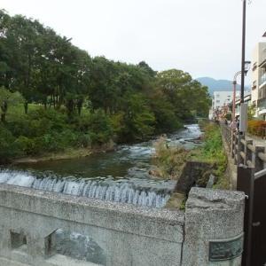 小鳥の宝庫と足湯と 千歳川と万葉公園:神奈川県湯河原町