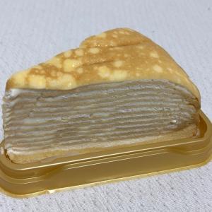 ミルクレープのレアチーズケーキ♪