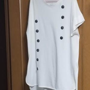 白いTシャツを、、、