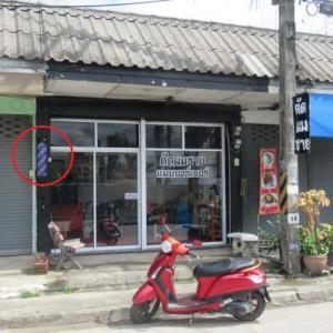 チェンライの散髪屋