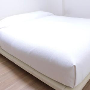 """もっさりベッドがカバー1枚で""""ホテルライク""""に!(掲載)"""
