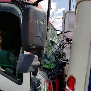 [No.1210] エルショコ号が大型トラックに追突されました