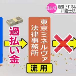 7/22 過払い金事務所、約30億円流用