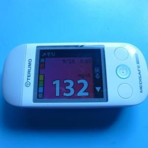 9/28 今朝の血糖値です。